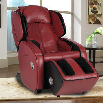 Human Touch AcuTouch 6.0 Reclining Massage Chair Color: Red