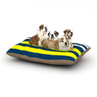 East Urban Home Trebam 'Nauticki' Dog Pillow with Fleece Cozy Top Size: Small (40