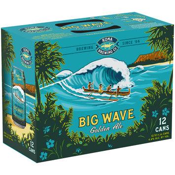 Kona Brewing Co.® Big Wave® Golden Ale 12-12 fl. oz. Cans