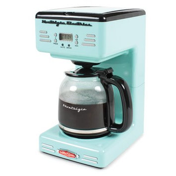 Nostalgia Electrics 12-Cup Retro Series Programmable Coffee Maker