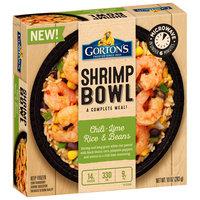 Gorton's® Chili-Lime Rice & Beans Shrimp Bowl Frozen Dinner 10 oz. Box
