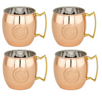 Old Dutch Copper Monogrammed 16 oz. Moscow Mule Mug Letter: G