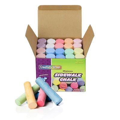 Chenille Kraft Sidewalk Chalk 20 Pieces