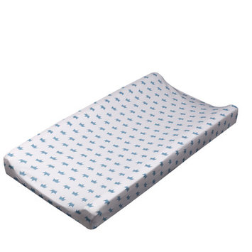 Livingtextilesbaby Little Crowns Change Pad Cover Mattress Protector