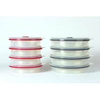 Rebrilliant 16 Piece Round Collapsible Food Storage Container Set