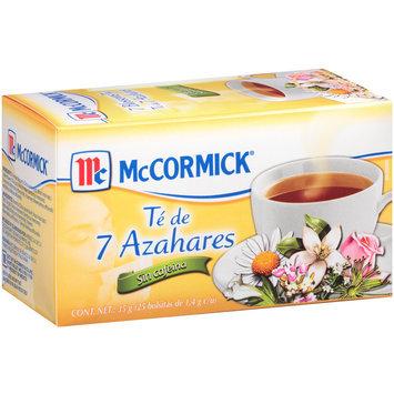 McCormick® 7 Blossoms Tea 1.24 oz. Box