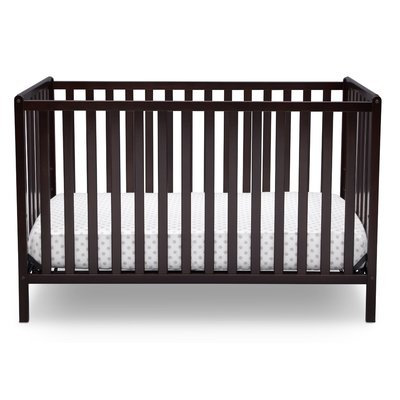 Delta Children Heartland 4-in-1 Convertible Crib Finish: Dark Chocolate