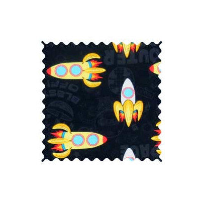 Sheetworld Outer Space Fabric by the Yard