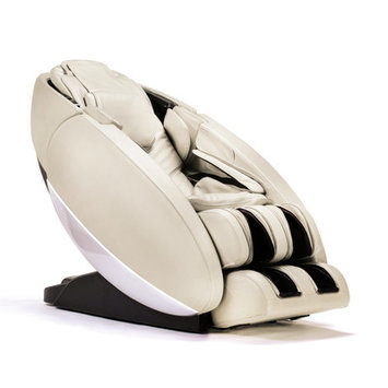 Human Touch NovoXT Zero Gravity Massage Chair Upholstery: Cream