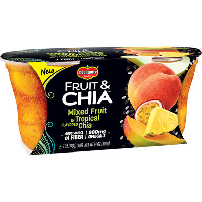 Del Monte® Fruit & Chia Mixed Fruit in Tropical Flavored Chia