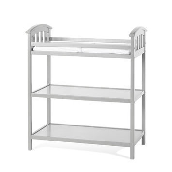 Child Craft Delaney Dressing ChangingTable Finish: Cool Gray