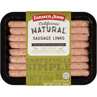 Farmer John® California Natural* Sausage Links 12 oz. Pack