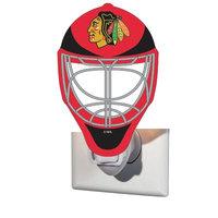 Team Sports America NHL Glass Night Light NHL Team: Chicago Blackhawks