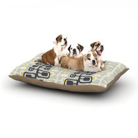 East Urban Home Gill Eggleston 'Carnaby' Dog Pillow with Fleece Cozy Top Size: Small (40