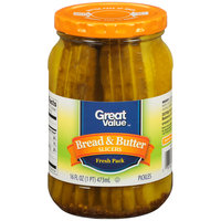 Great Value™ Bread & Butter Slicers 16 fl. oz. Jar
