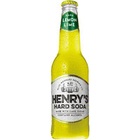 Henry's Hard Soda® Hard Lemon Lime Soda 12 fl. oz. Bottle