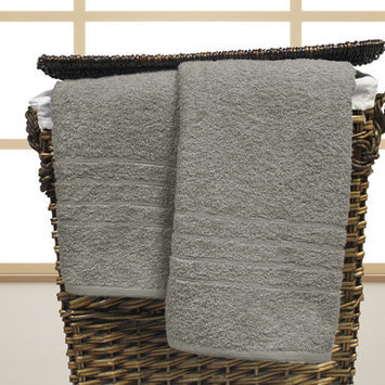 Charlton Home Spa Cotton Oversized Bath Sheet Color: Silver