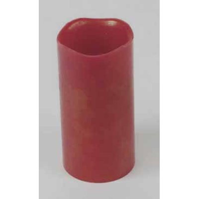 The Holiday Aisle Battery Operated Flameless LED Lighted Wax Christmas Pillar Candle