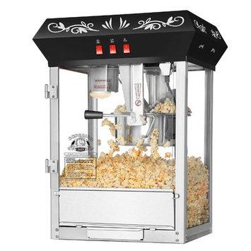 Superior Popcorn Company 0.25 Qt. Movie Night Countertop Popcorn Popper Machine Color: Black