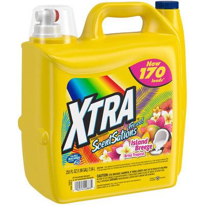 Xtra™ ScentSations Island Breeze Laundry Detergent 255 fl. oz. Jug