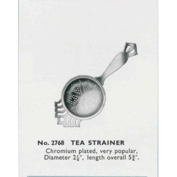 Tala Originals Retro Style Stainless Steel Tea Strainer / Infuser with Drip Tray
