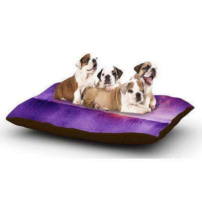 East Urban Home Viviana Gonzalez 'Orion Nebula' Dog Pillow with Fleece Cozy Top