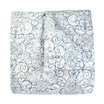 DwellStudio Gio Aqua Wash Cloths and Mitt Set