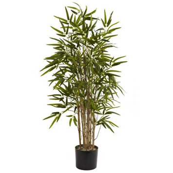 Bungalow Rose Twiggy Bamboo Tree in Pot