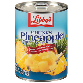 Libby's® Pineapple Chunks in Heavy Syrup 20 oz. Pull-Top Can