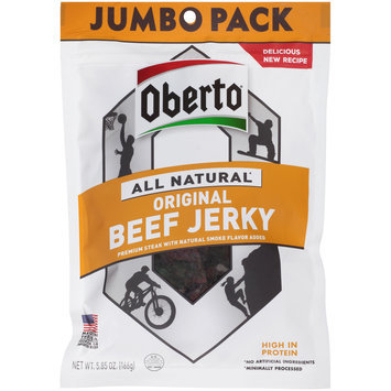 Oberto® All Natural Original Beef Jerky 5.85 oz. Pouch