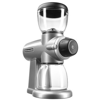 Kitchenaid Electric Burr Coffee Grinder Finish: Contour Silver