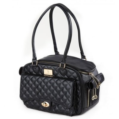 Vanderpumppets Classic Quilted Luxury Pet Carrier