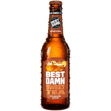 Best Damn Sweet Tea 12 fl. oz. Glass Bottle