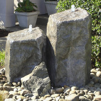 Liquidartfountains Rock Watershed Double Pondless Fountain Kit