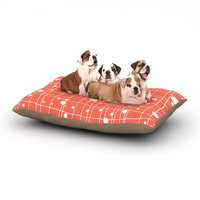 East Urban Home Budi Kwan 'Woven Web' Dog Pillow with Fleece Cozy Top Size: Small (40