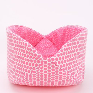 Thecatball Pink Polka Dots Cat Bed