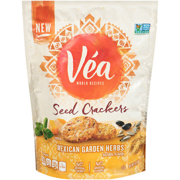 Véa Snacks Mexican & Garden Herbs Seed Crackers