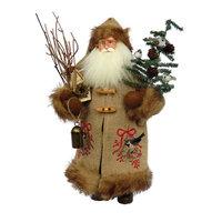 The Holiday Aisle Chickadee Claus Figurine