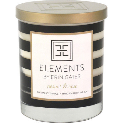 Elements By Erin Gates Erin Currant / Rose Jar Candle