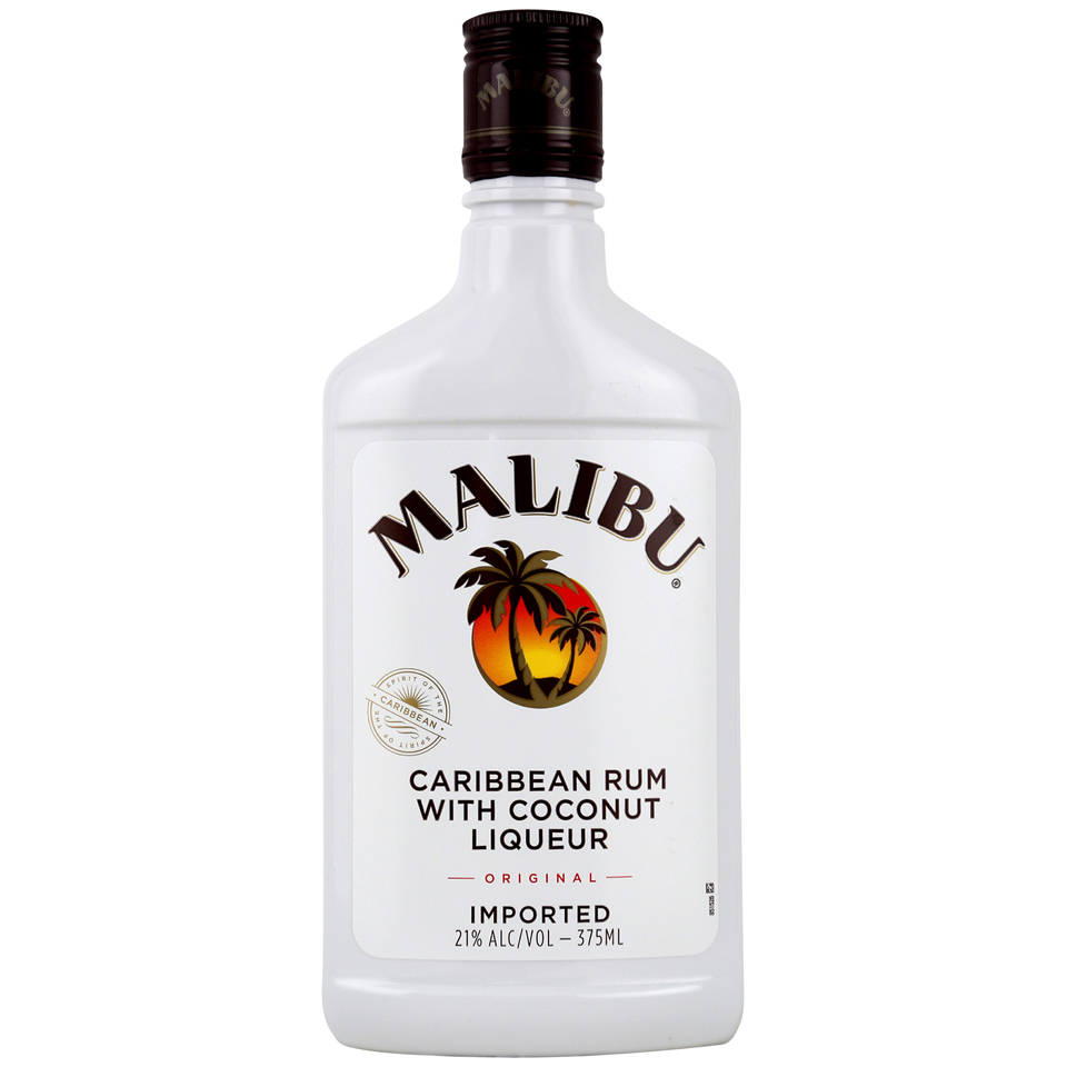 Malibu Rum Caribbean Original 375ml Bottle