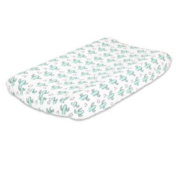 The Peanut Shell Cactus Changing Pad Cover