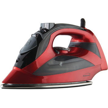 Brentwood Appliances Steam Iron With Auto Shutoff (red) - Brentwood
