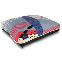 Lion+wolf Cloudburst Dog Pillow Size: Medium (33