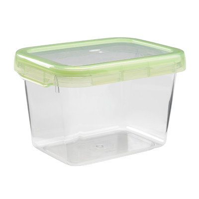 OXO Good Grips LockTop 44-Ounce Rectangle Container with Green Lid