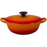 Le Creuset 1.5 -qt. Soup Pot Color: Flame