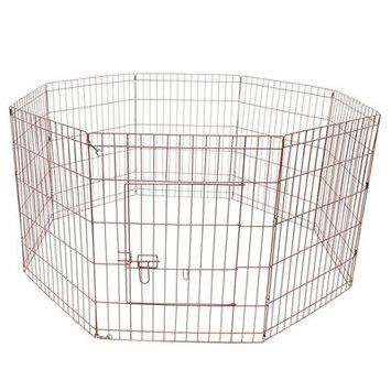 Aleko Exercise Cage Fence 8 Panel Pet Pen Size: 30