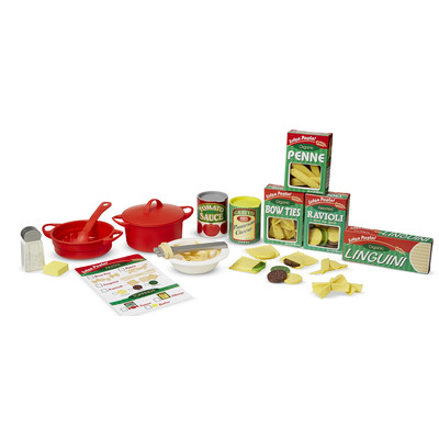 Melissa & Doug 58 Piece Perfect Pasta Play Set