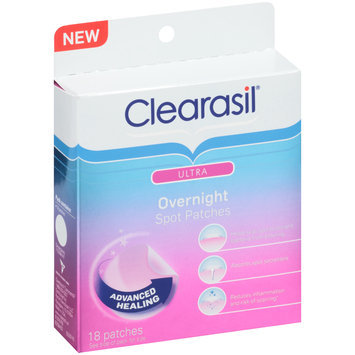 Clearasil® Ultra Overnight Spot Patches 18 ct Box