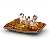 East Urban Home Iris Lehnhardt 'Sun Flooded' Dog Pillow with Fleece Cozy Top Size: Small (40