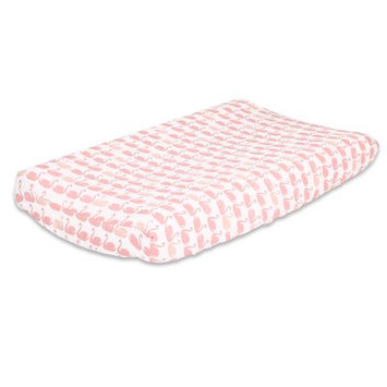 The Peanut Shell Swan Changing Pad Cover